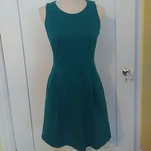 Madewell green dress size Small